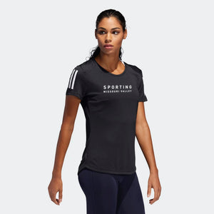 Sporting Missouri Valley: adidas Women's Cut Own the Run Tee