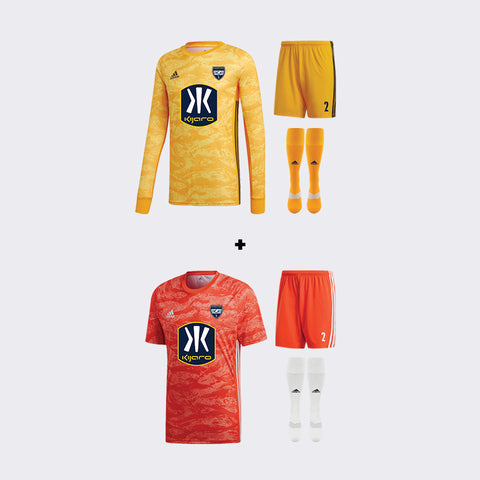 Sporting Arkansas Required Goalie Kit Bundle