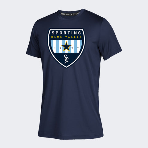 Sporting Blue Valley Navy Spiritwear Tee