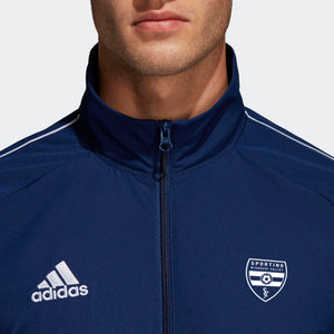 Sporting Missouri Valley: adidas Adult Core 18 Pre Jacket