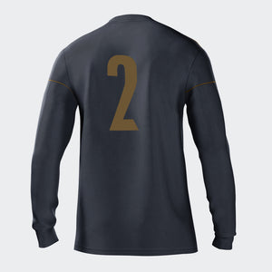 Sporting Michigan Boys Onyx Secondary Long Sleeve Jersey