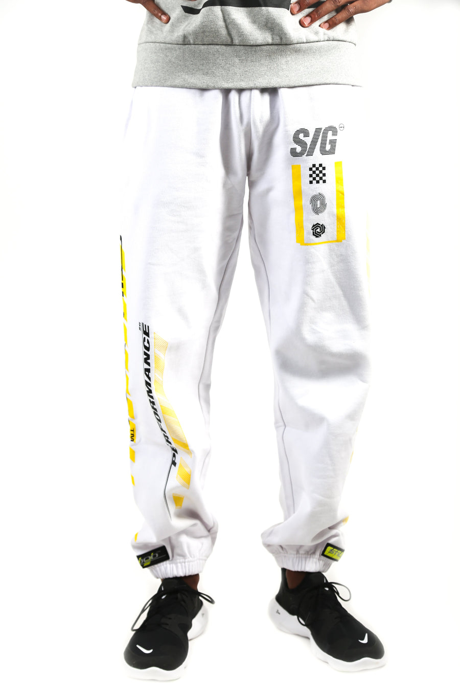 Fast Sweatpants White / S | Still Good