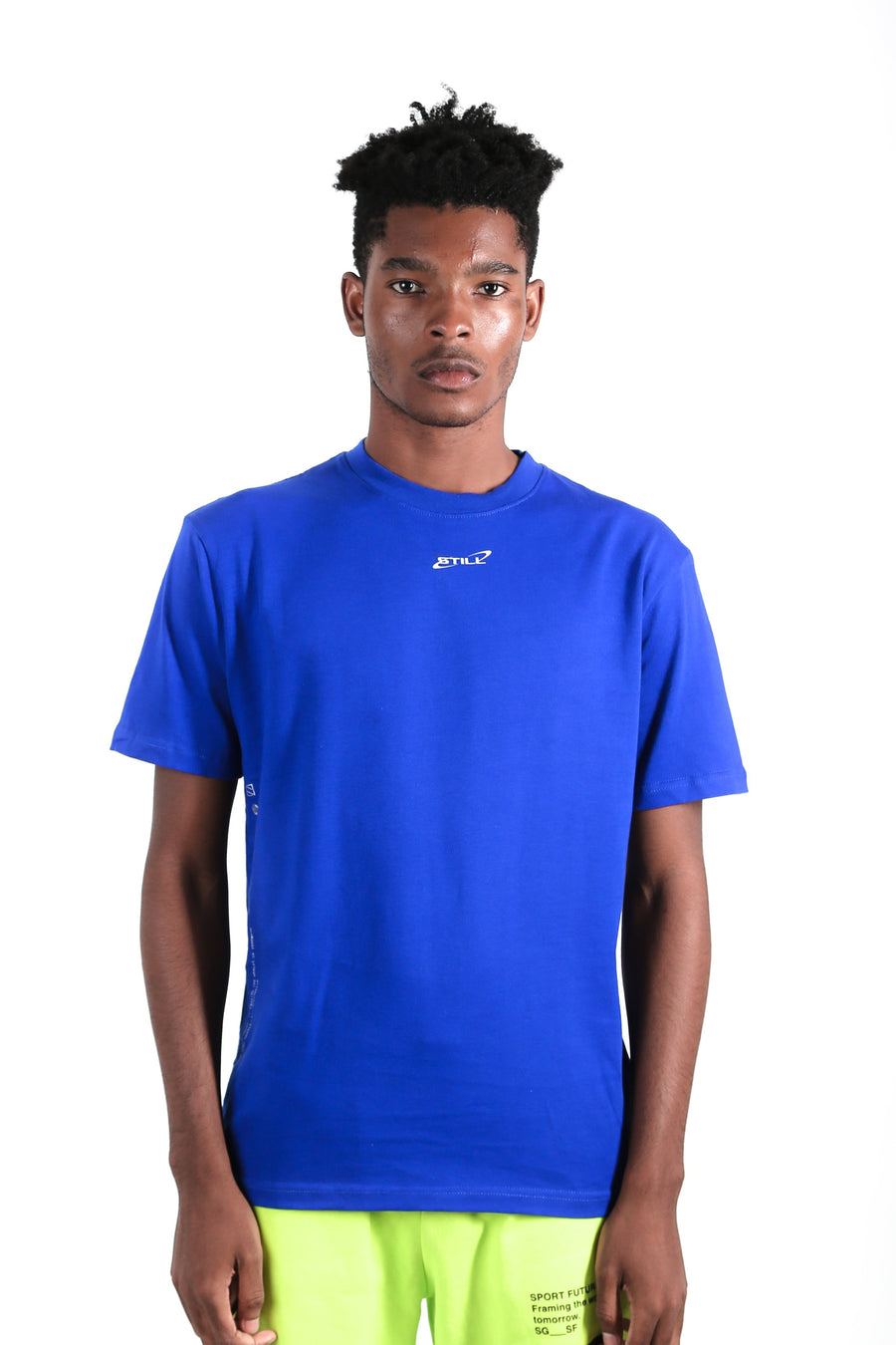 still good galaxy logo tee #royal blue