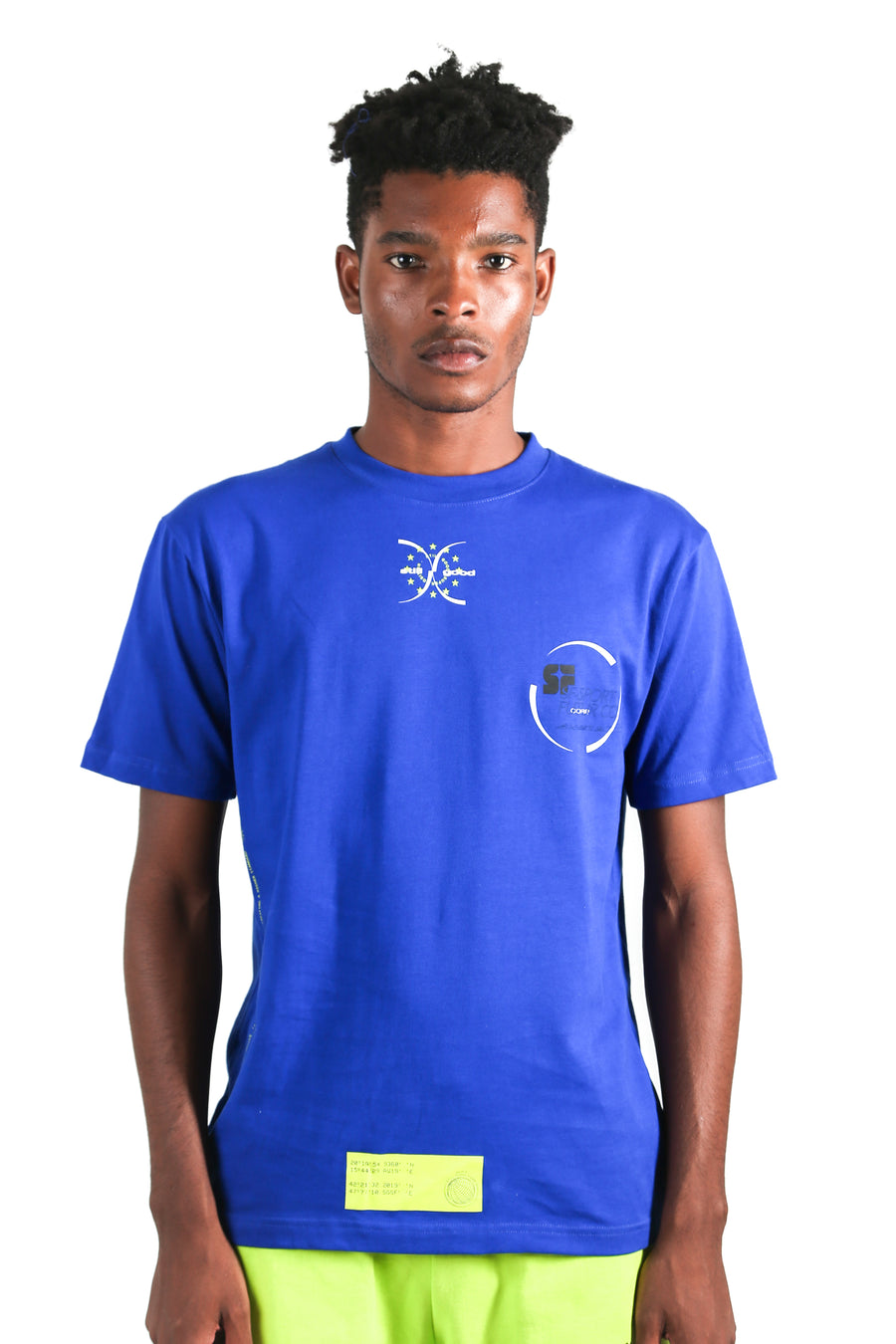 still good projection tee #royal blue