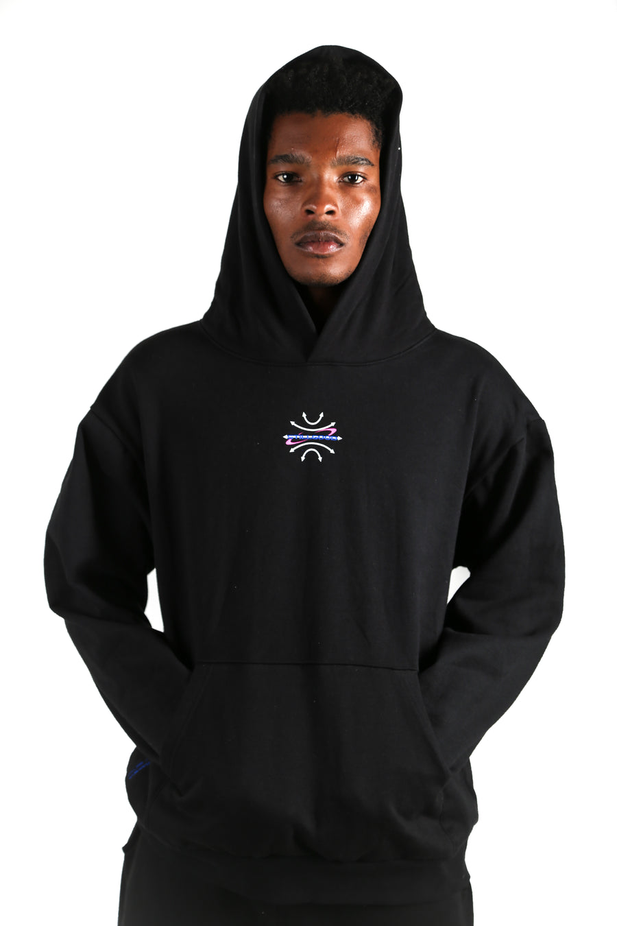 Global Galaxy 3D Hoodie Black / XS | Still Good