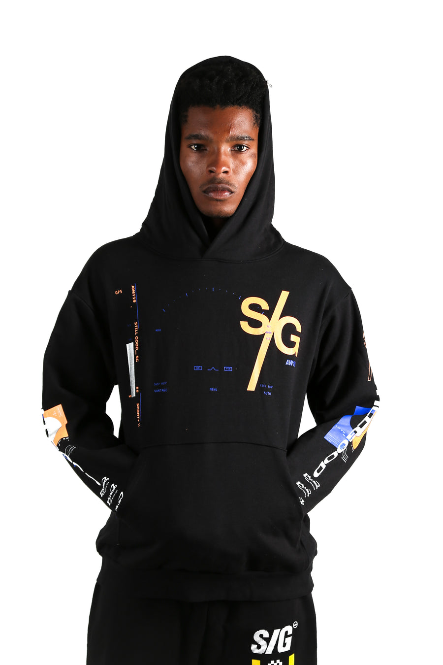 Planet Hoodie Black / XS | Still Good