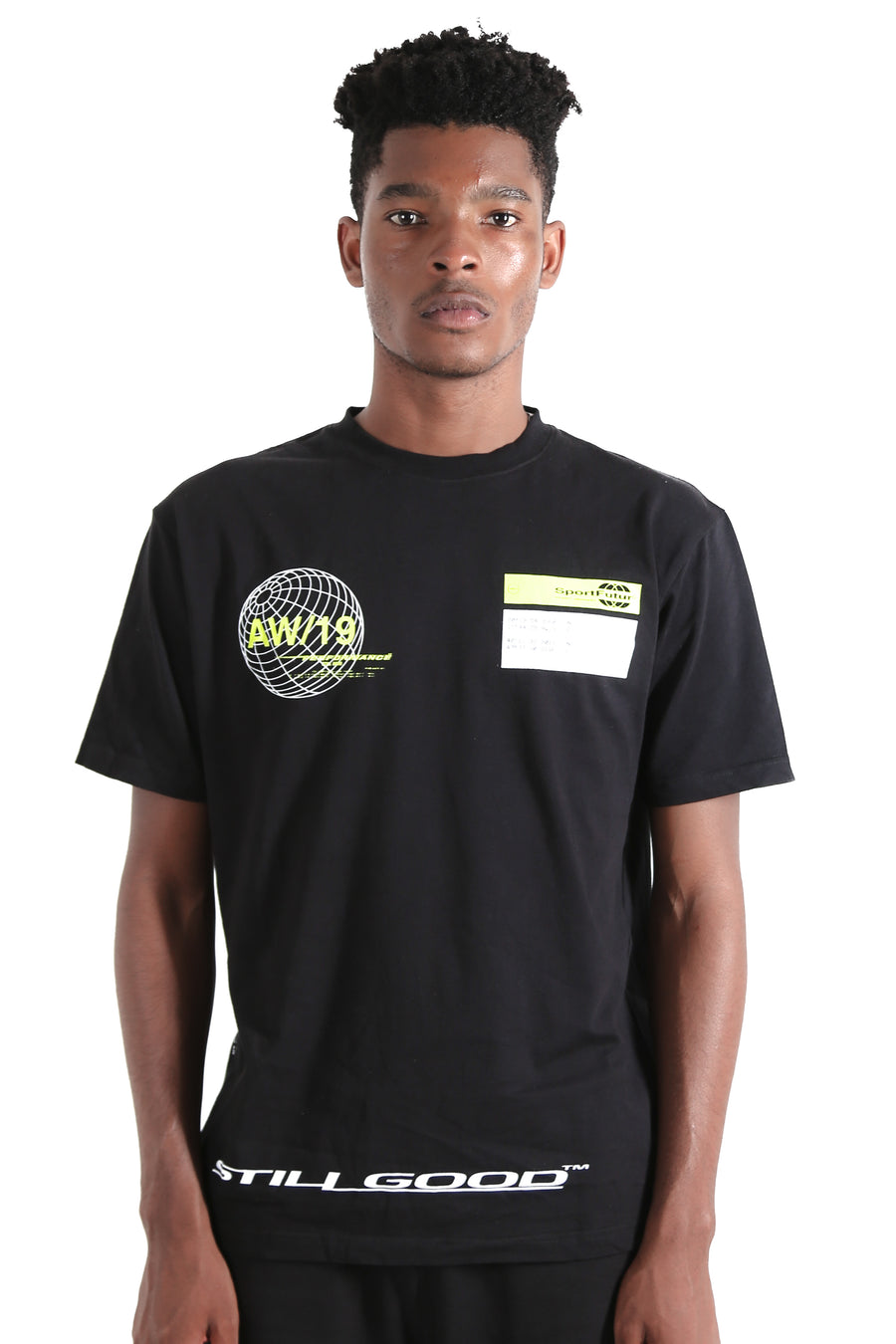 World Tee Black / XS | Still Good