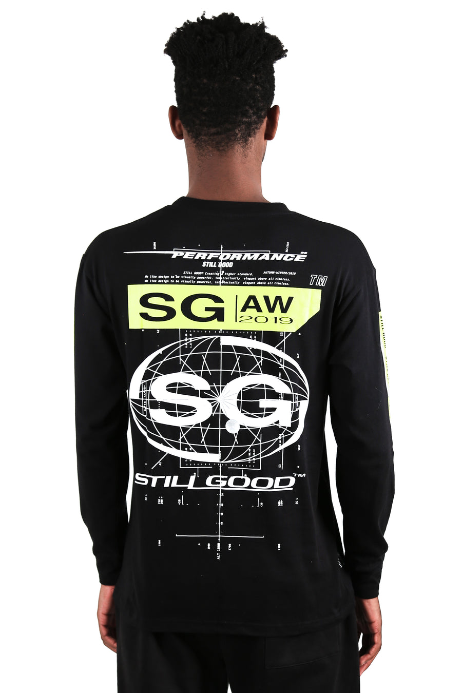 still good concept ls tee #black