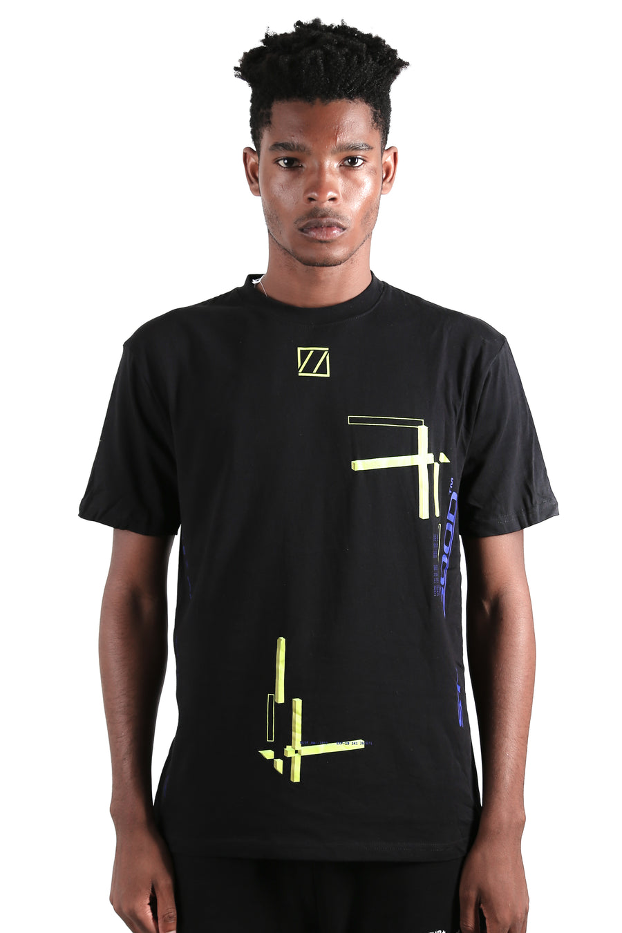 Abstract Movement 3D Tee Black / XS | Still Good