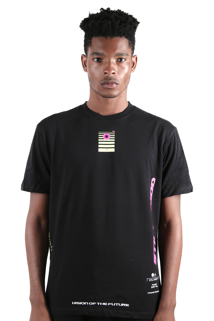 Cosmos Tee Black / XS | Still Good