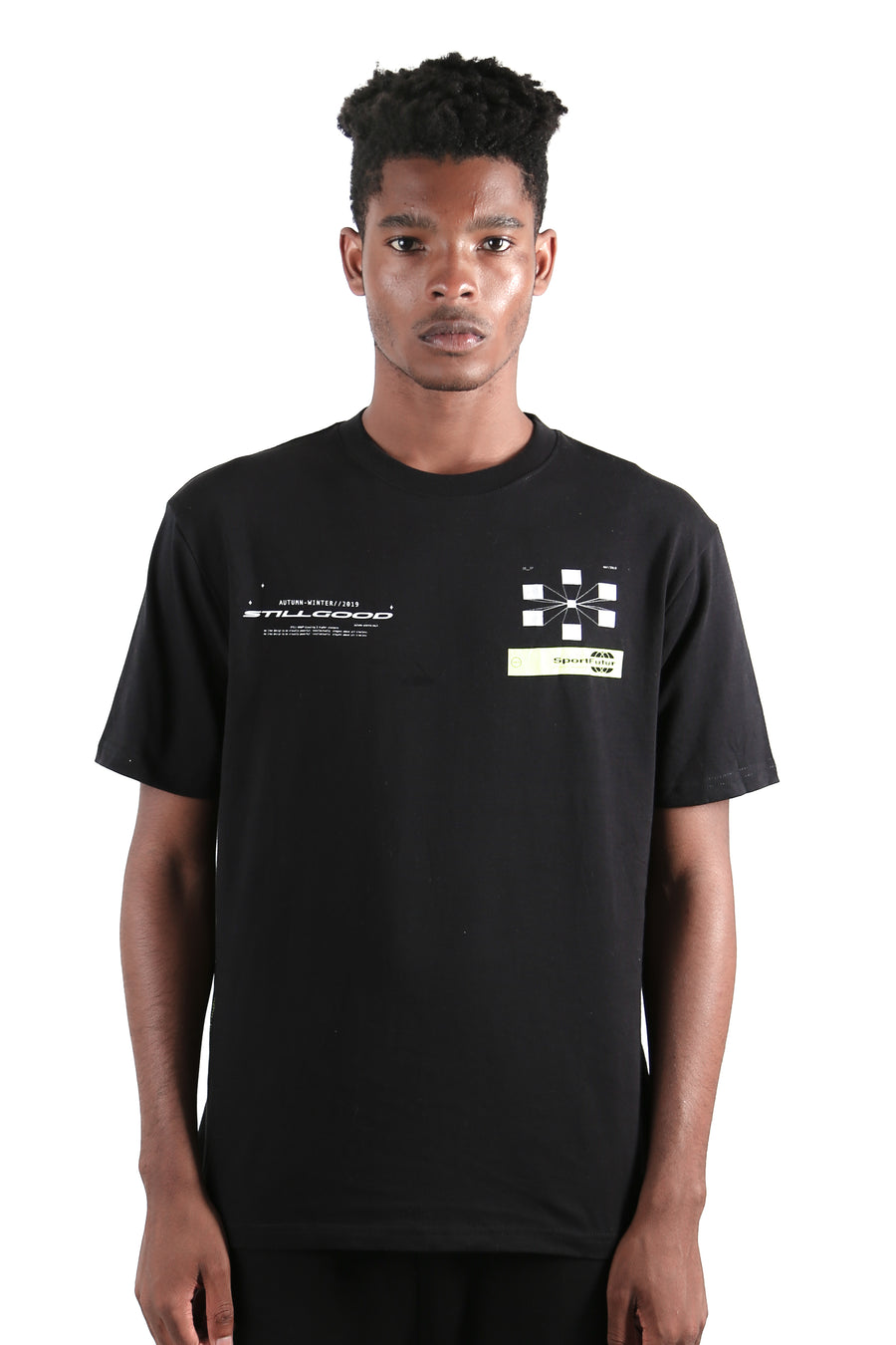 Rayon Tee Black / XS | Still Good