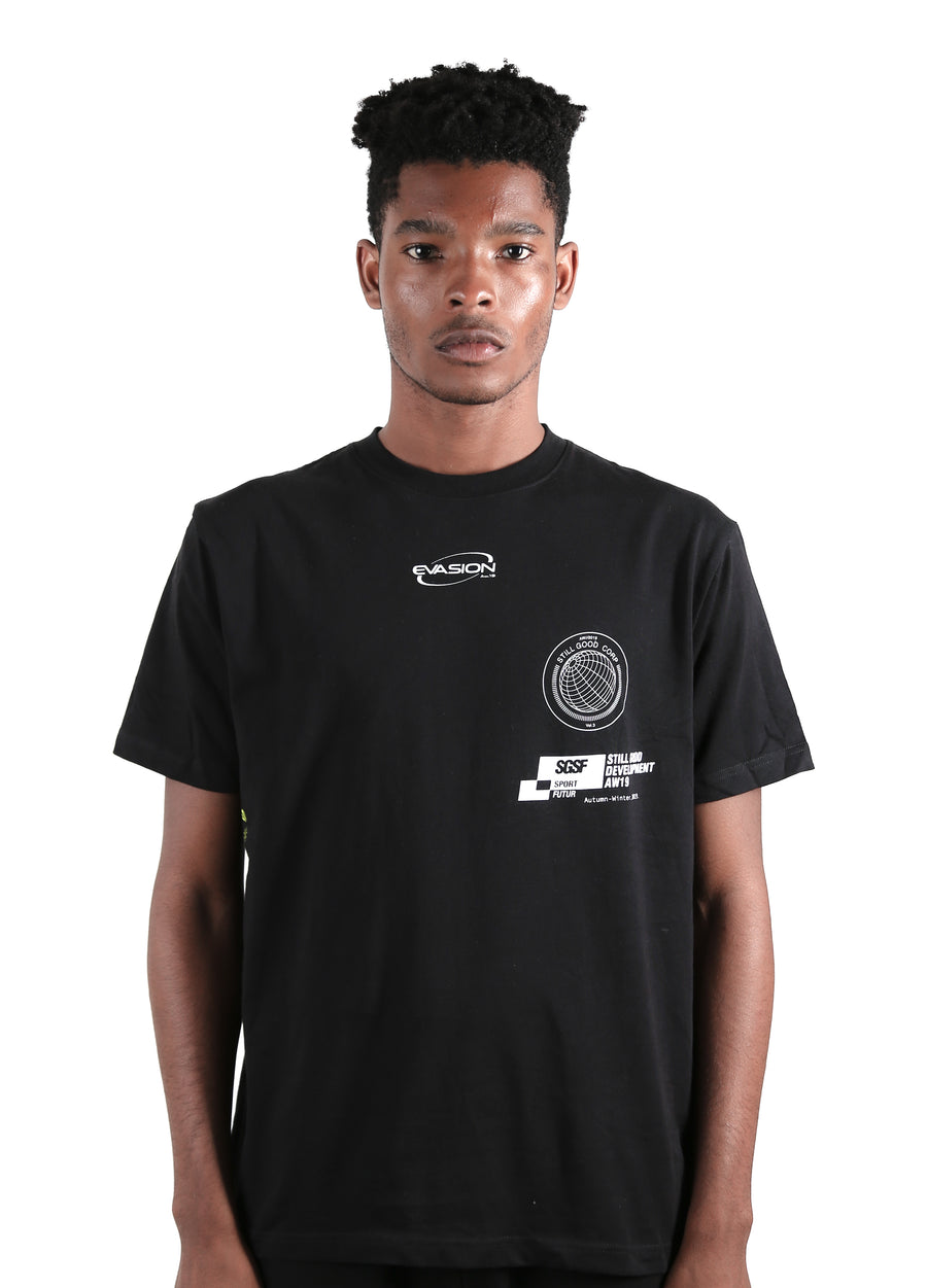 Corp Tee Black / XS | Still Good