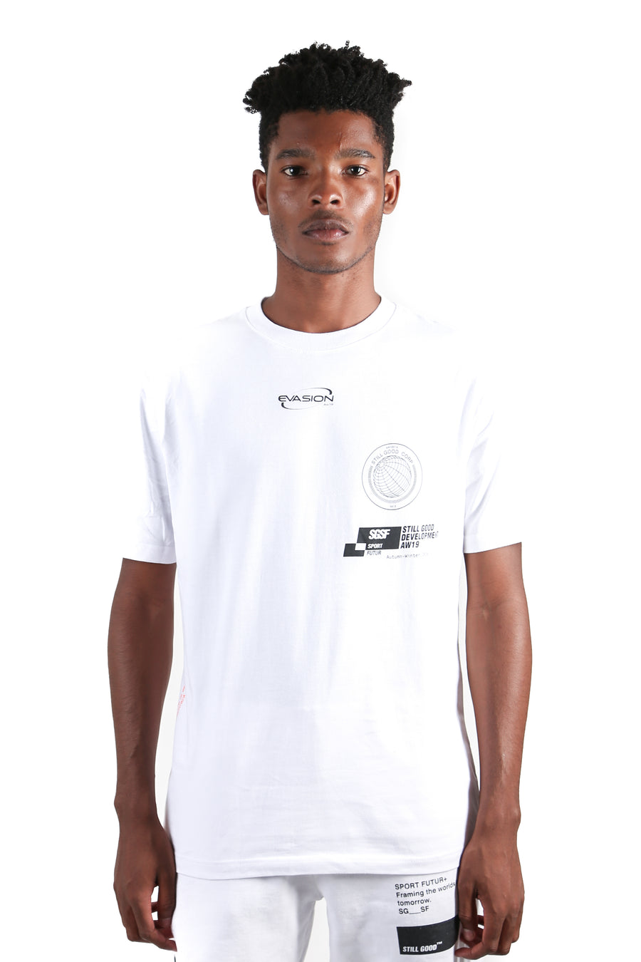 Corp Tee White / XS | Still Good