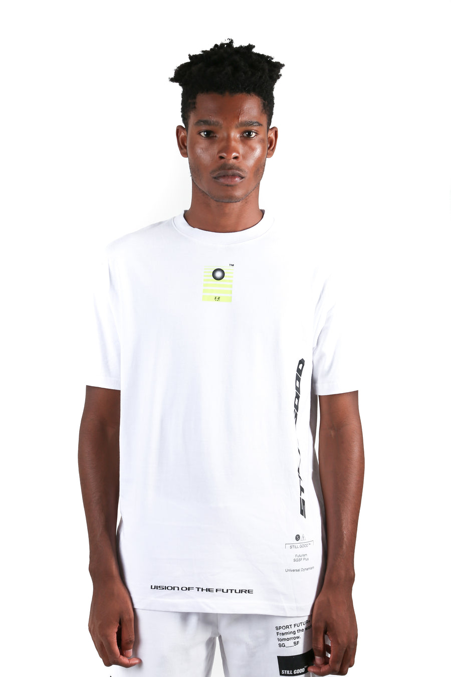 Cosmos Tee White / XS | Still Good