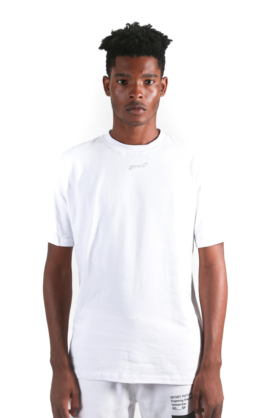 still good galaxy logo tee #white