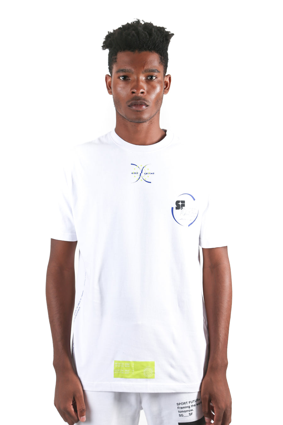 still good projection tee #white