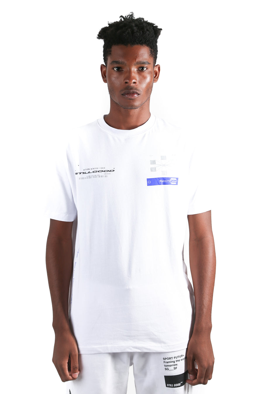 Rayon Tee White / XS | Still Good