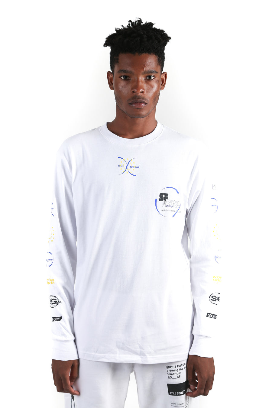 Projection LS Tee White / XS | Still Good
