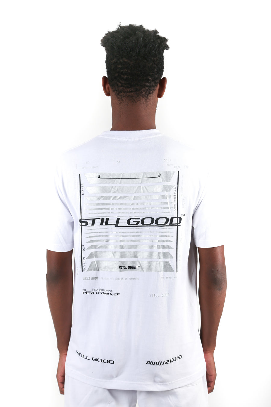 still good frame tee #white
