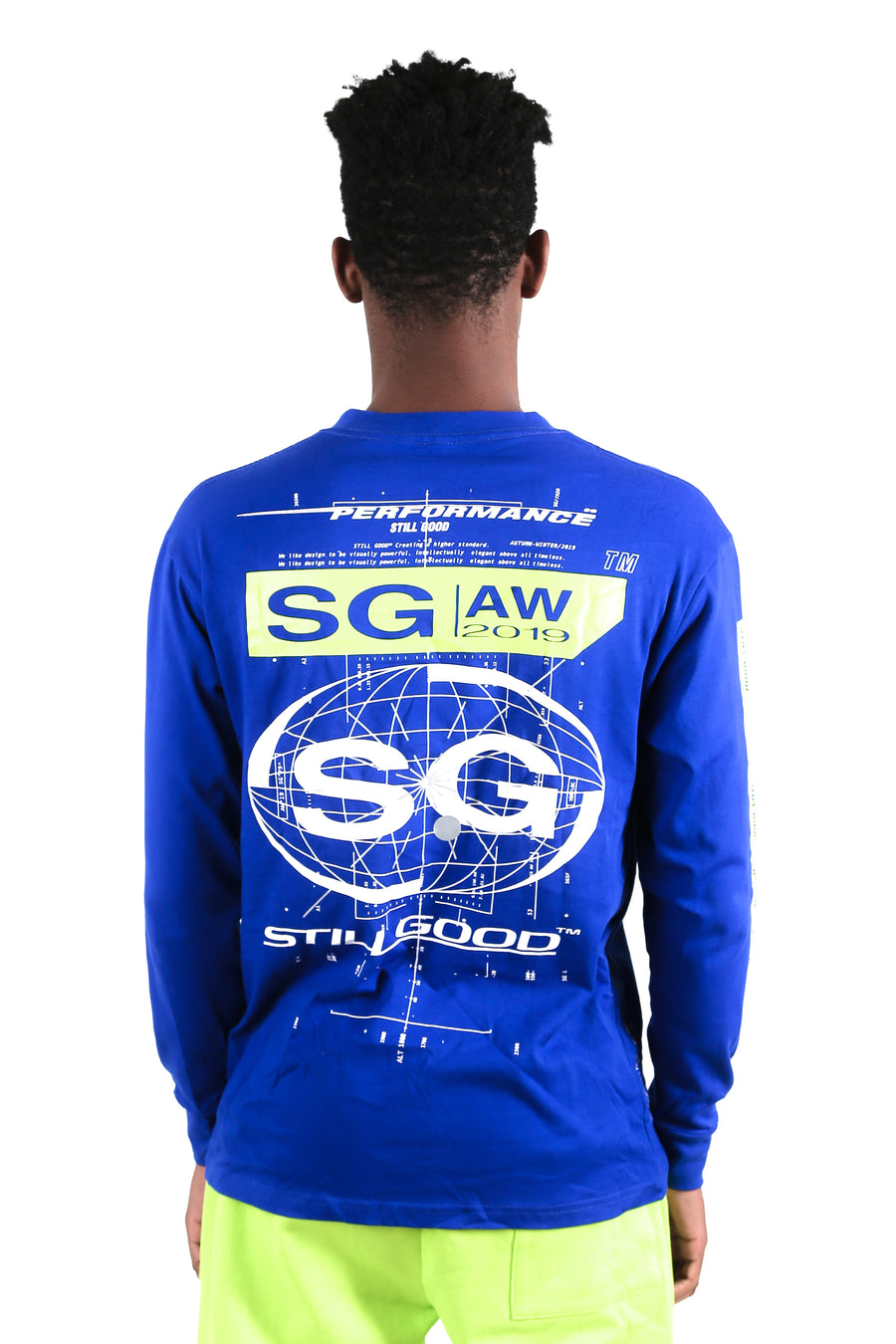 still good concept ls tee #blue