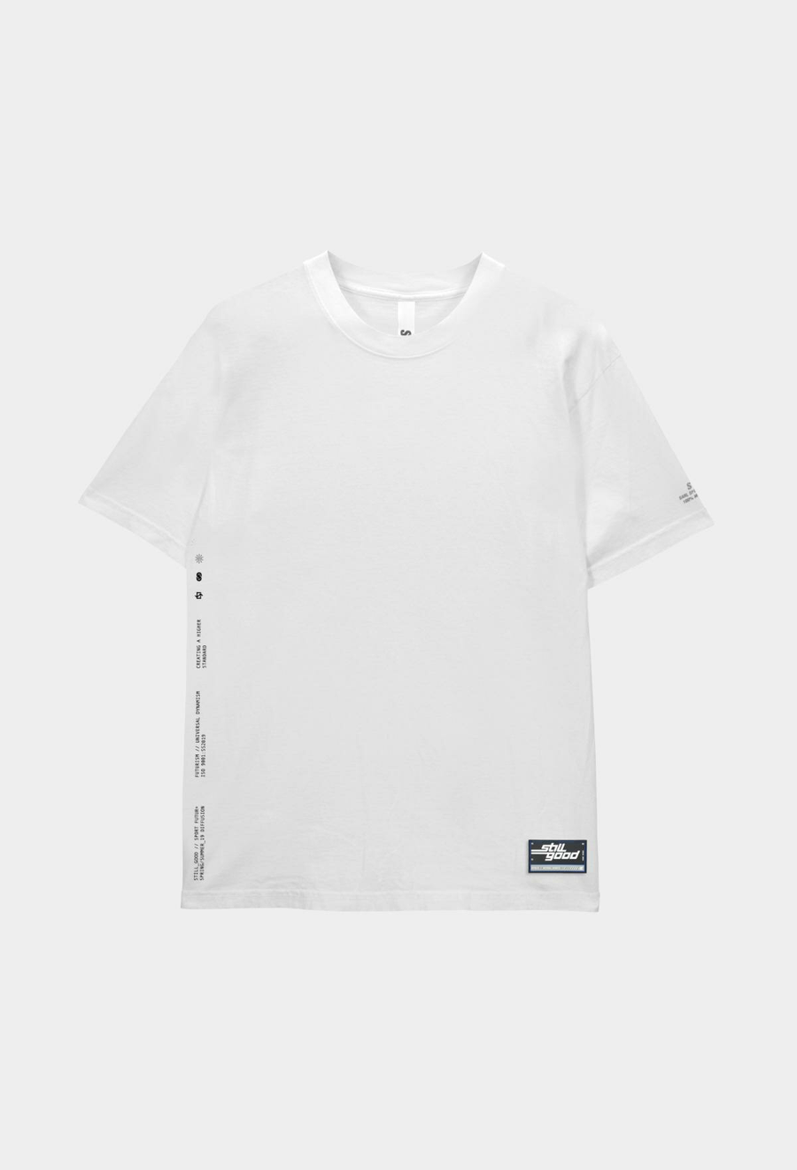 Basic Patch Tee White / XS | Still Good