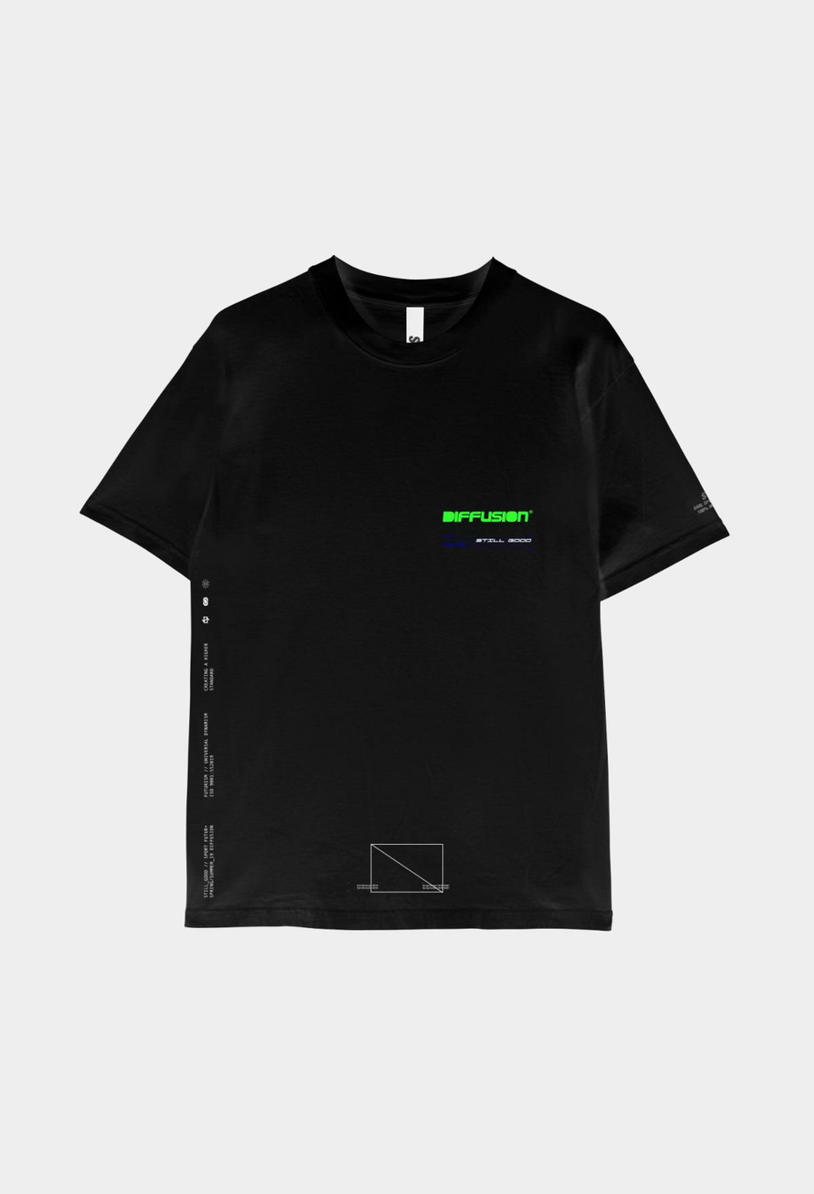Diffusion Tee Black / XS | Still Good