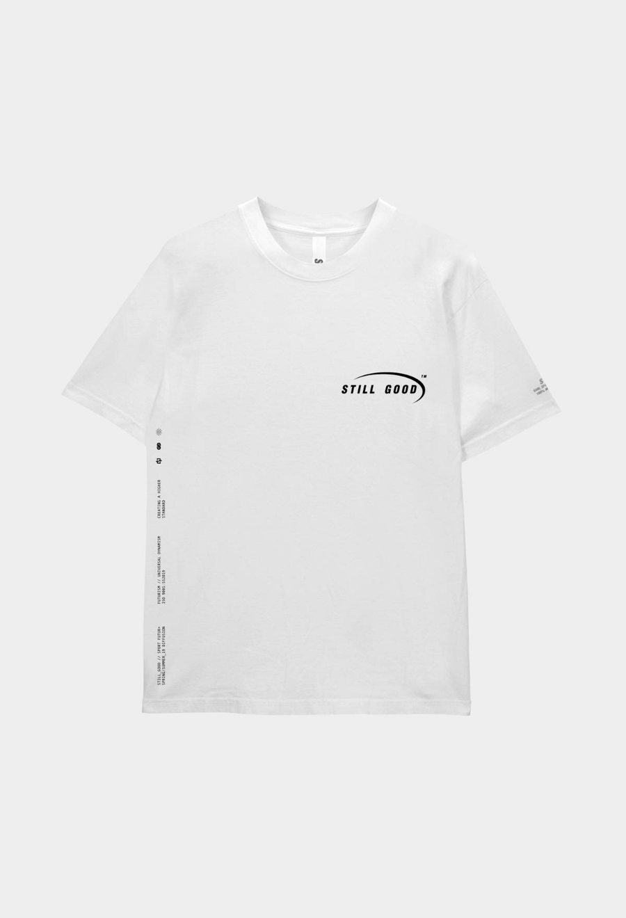 Signature Tee White / XS | Still Good
