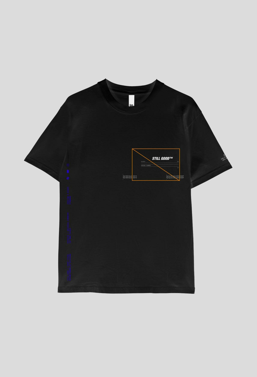Texture Tee Black / XS | Still Good