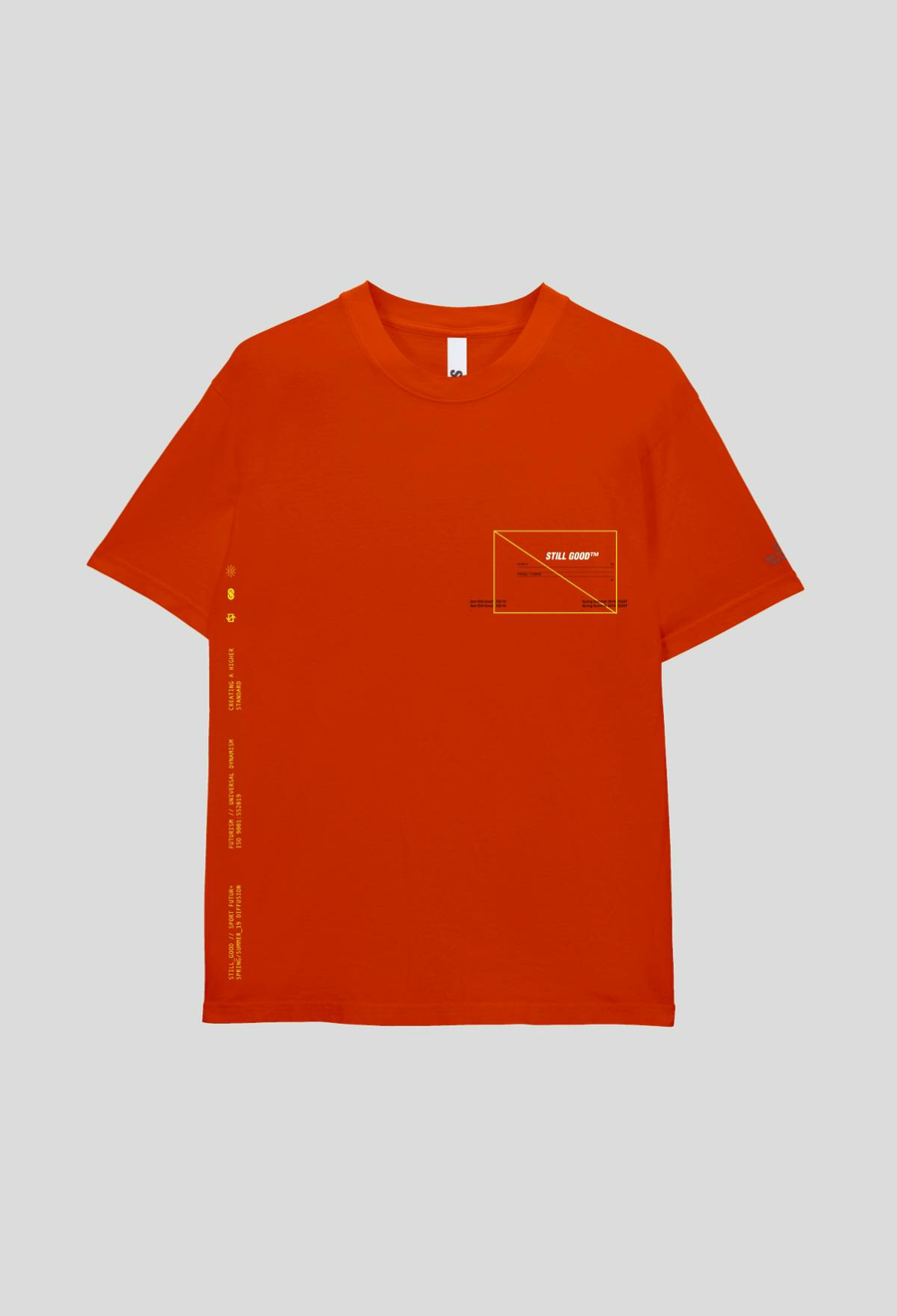 Texture Tee Orange / XS | Still Good