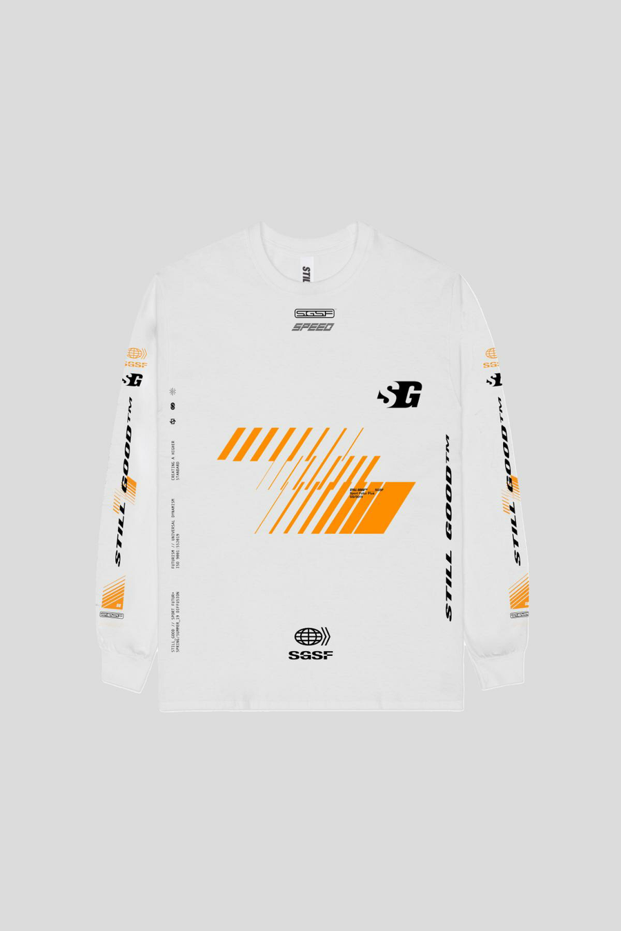 Vision L/S Tee White / XS | Still Good