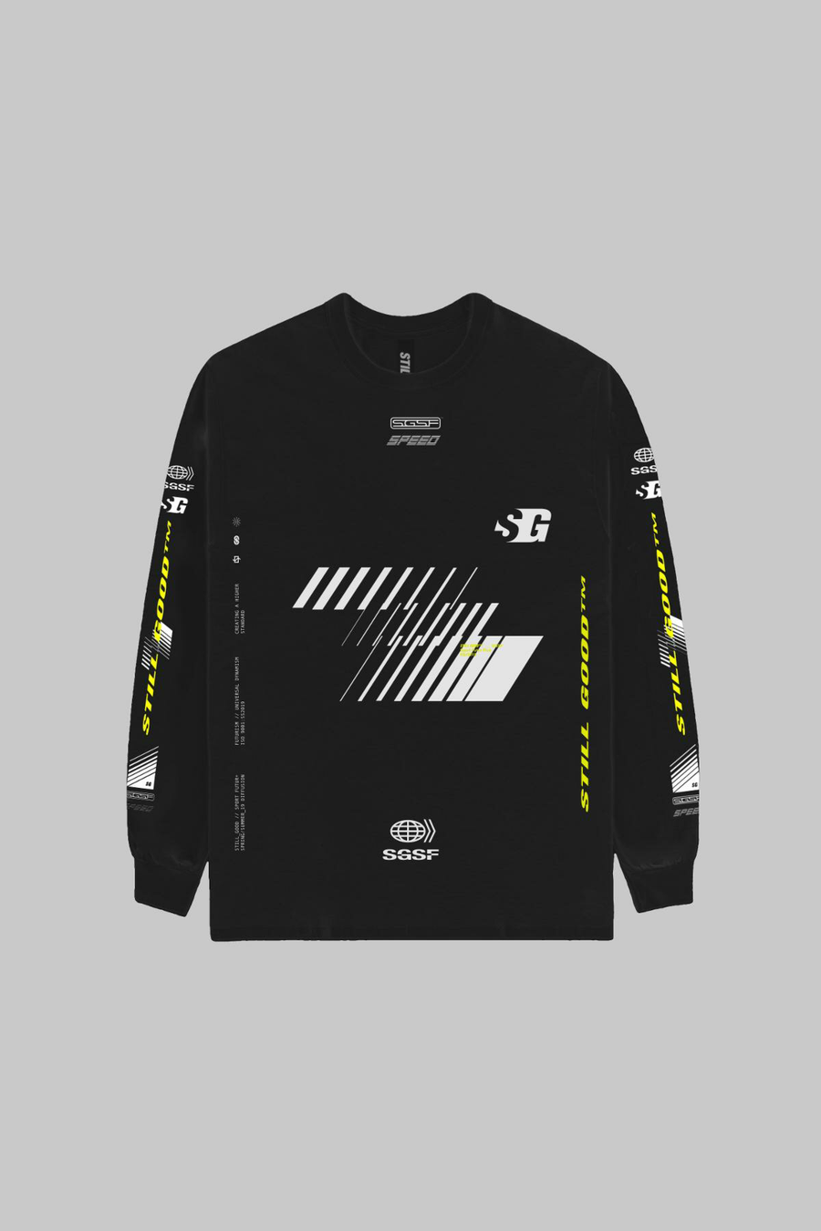 Vision L/S Tee Black / XS | Still Good