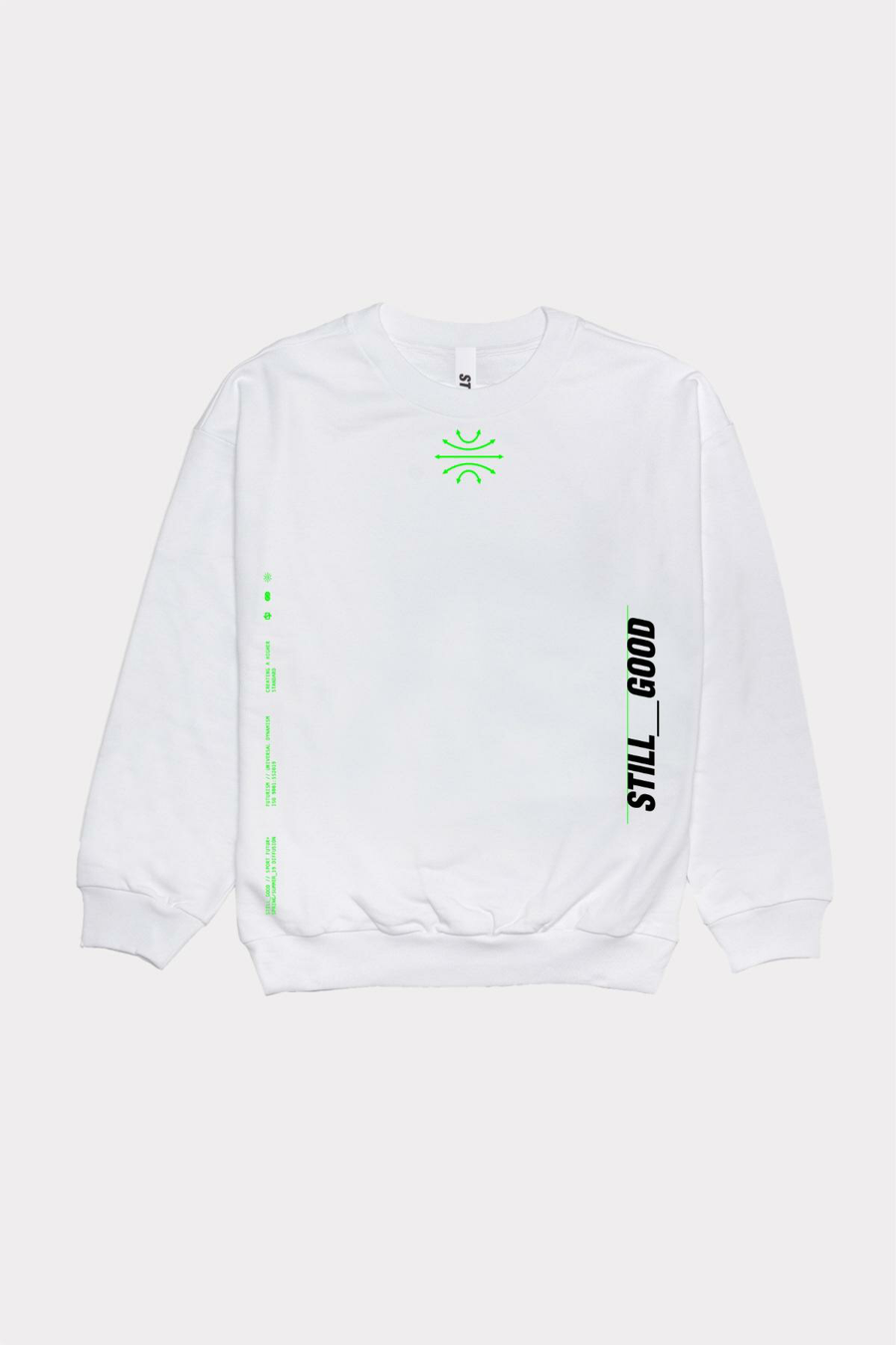 Global V2 Crewneck White / XS | Still Good