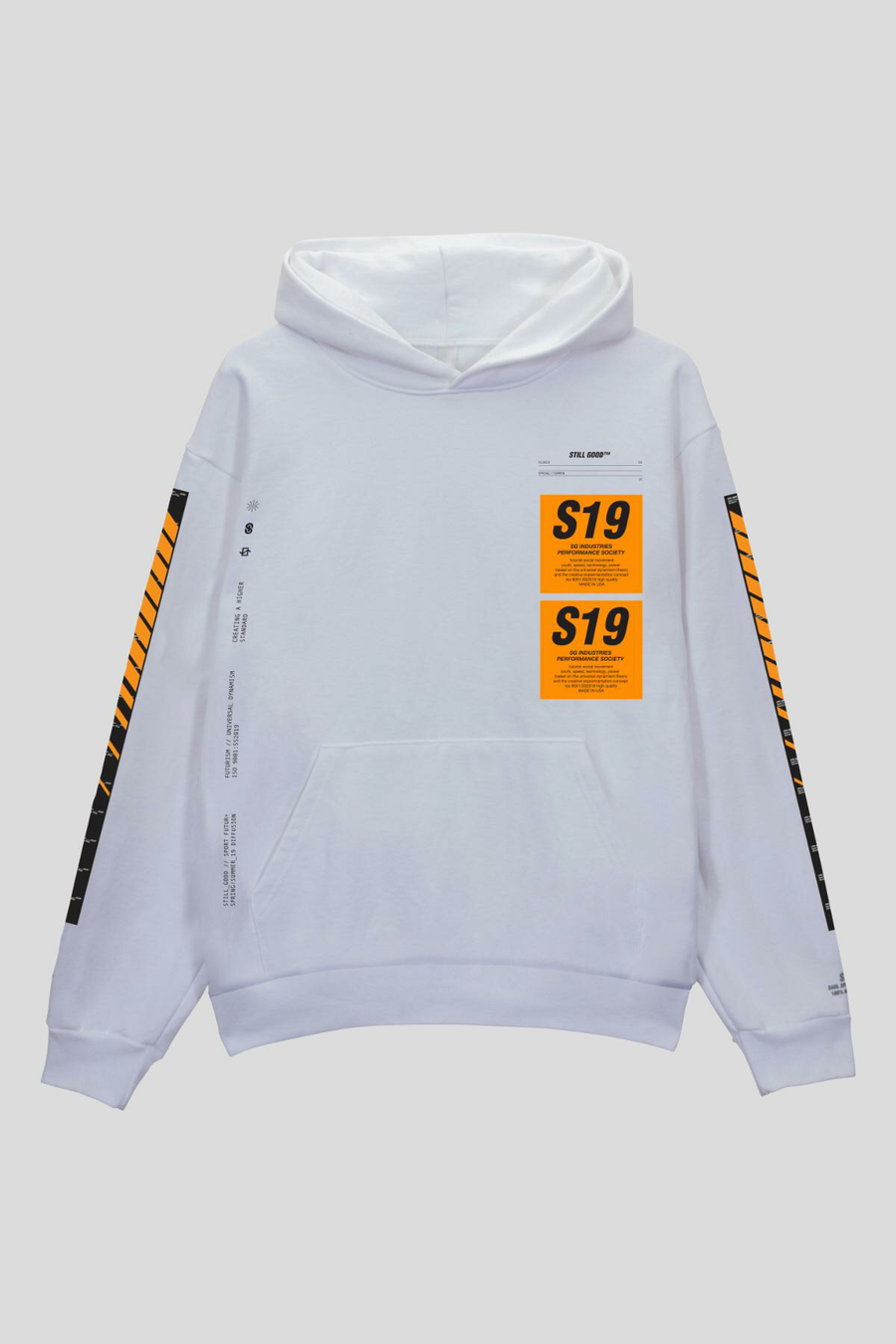 Patch Hoodie White / XS | Still Good