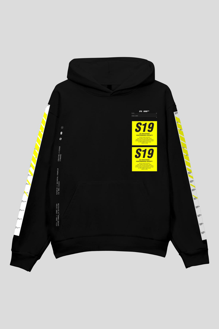 Patch Hoodie Black / XS | Still Good