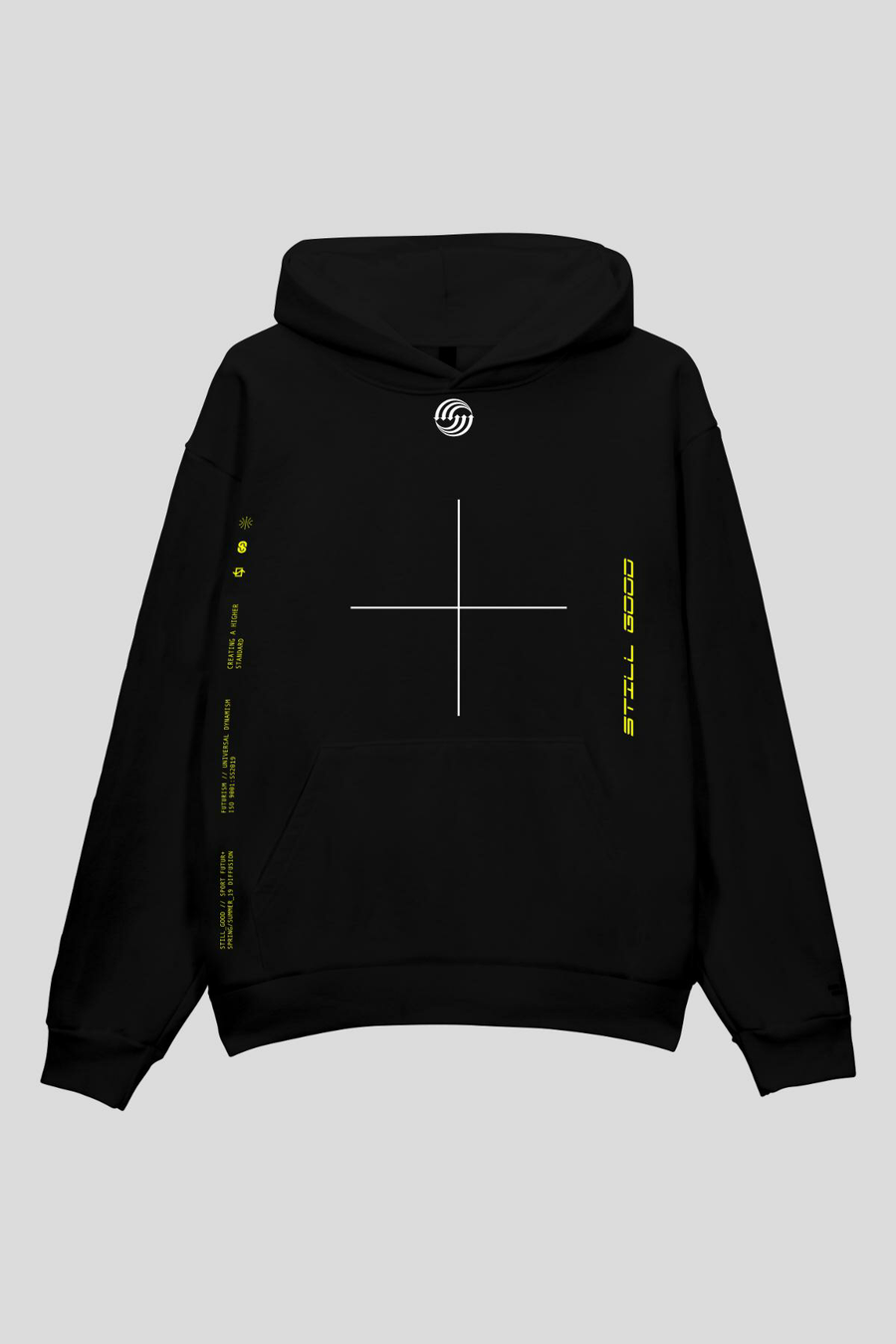 Universal Hoodie Black / XS | Still Good
