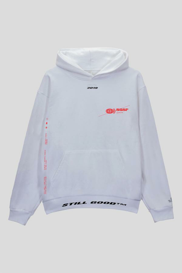 Tracking Hoodie White / XS | Still Good