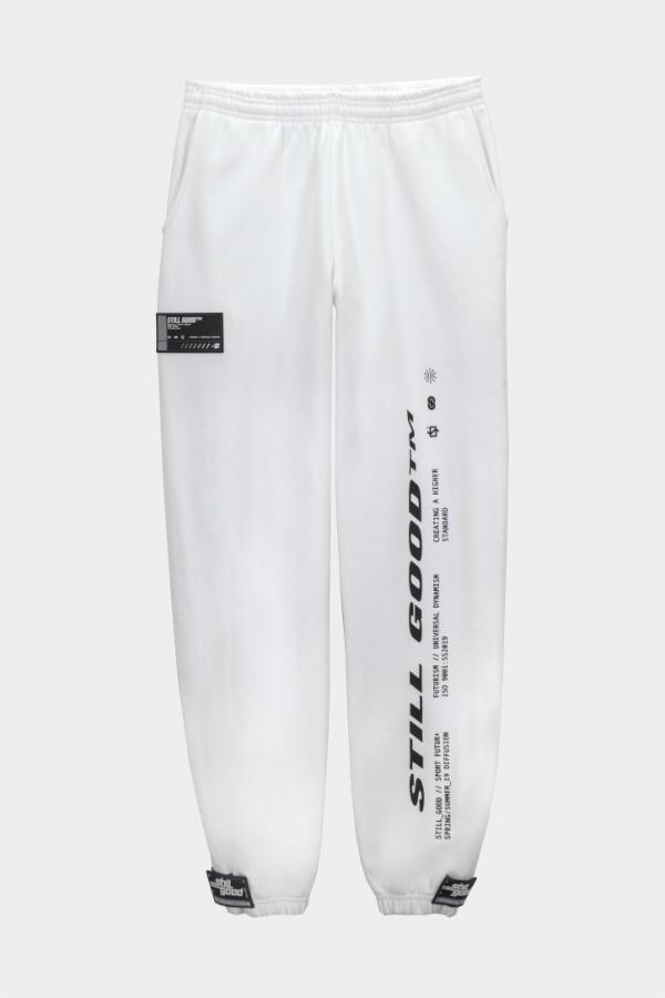 Plasticity Sweatpants White / XS | Still Good