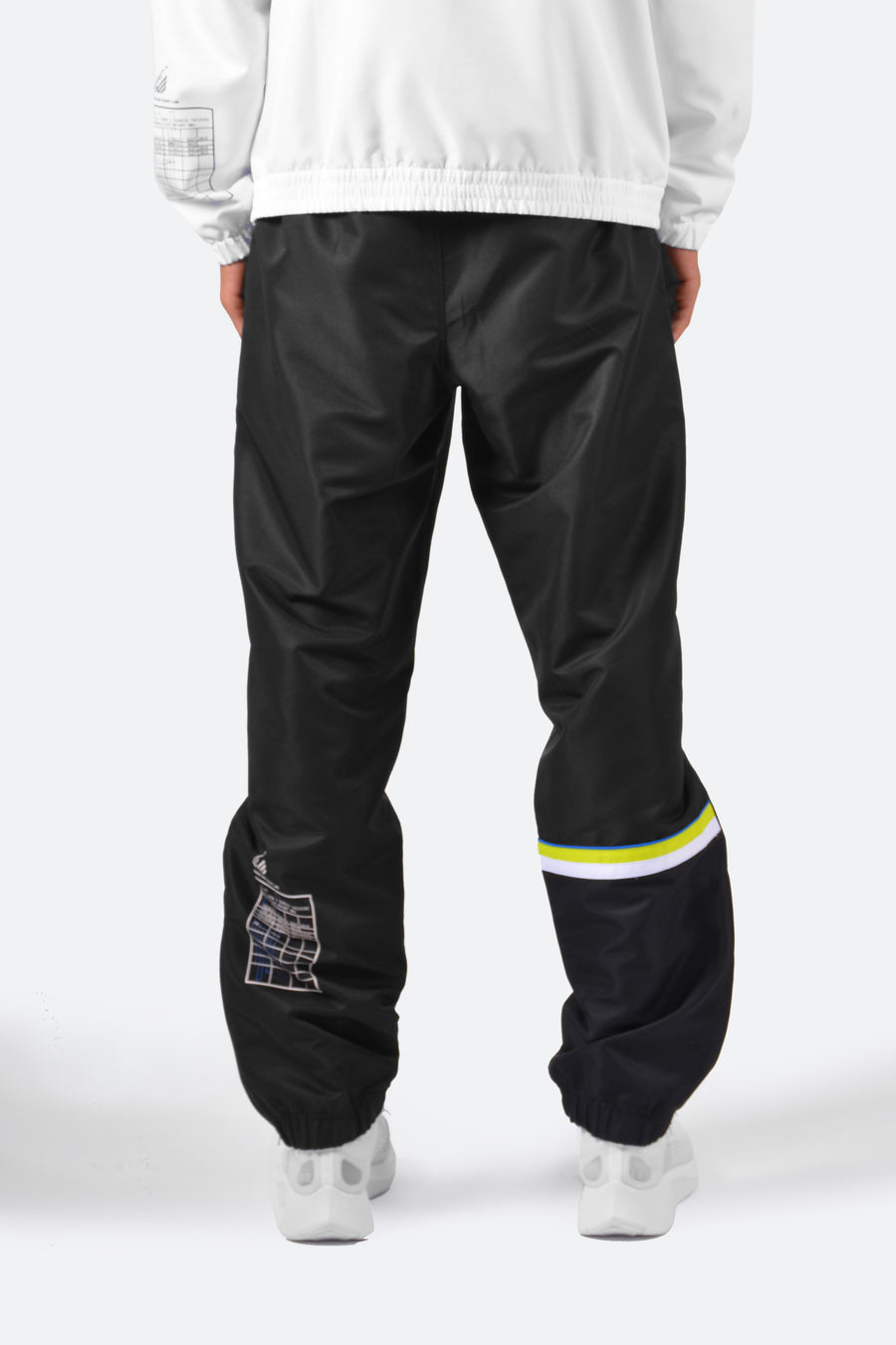 Still Good x Sergio Tacchini Cryo Track Pants #Black
