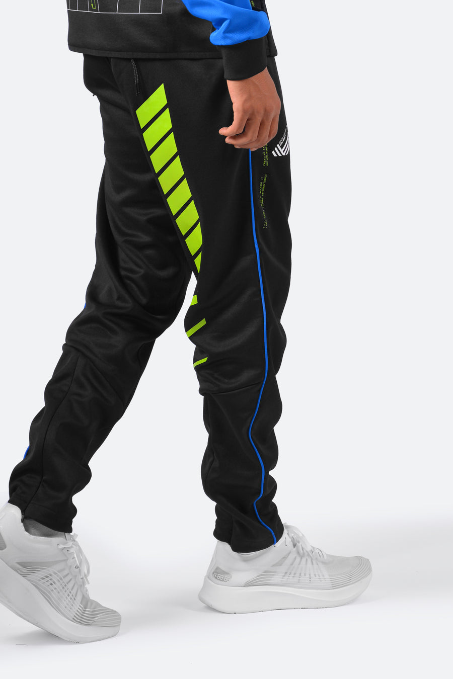 Still Good x Sergio Tacchini F1 Lab Track Pants #Black