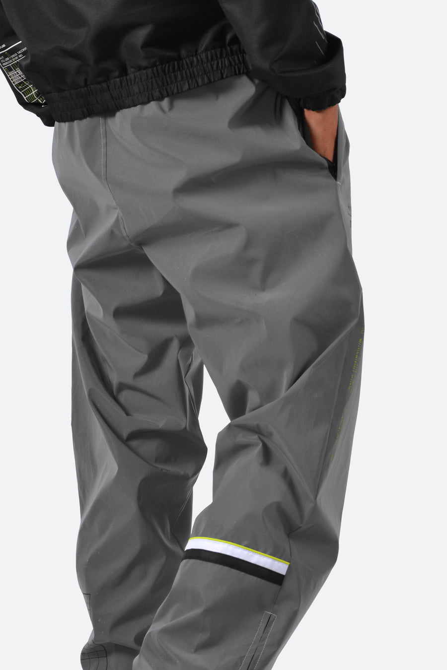 Still Good x Sergio Tacchini Cryo Reflective Track Pants #Grey