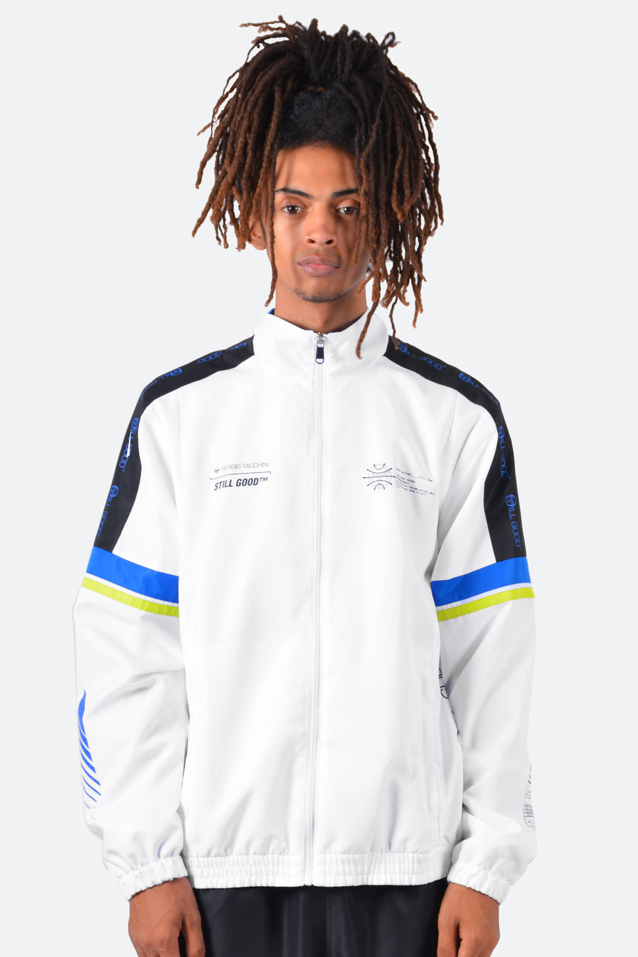 Sergio Tacchini Cryo Track Jacket White/Black / XS | Still Good