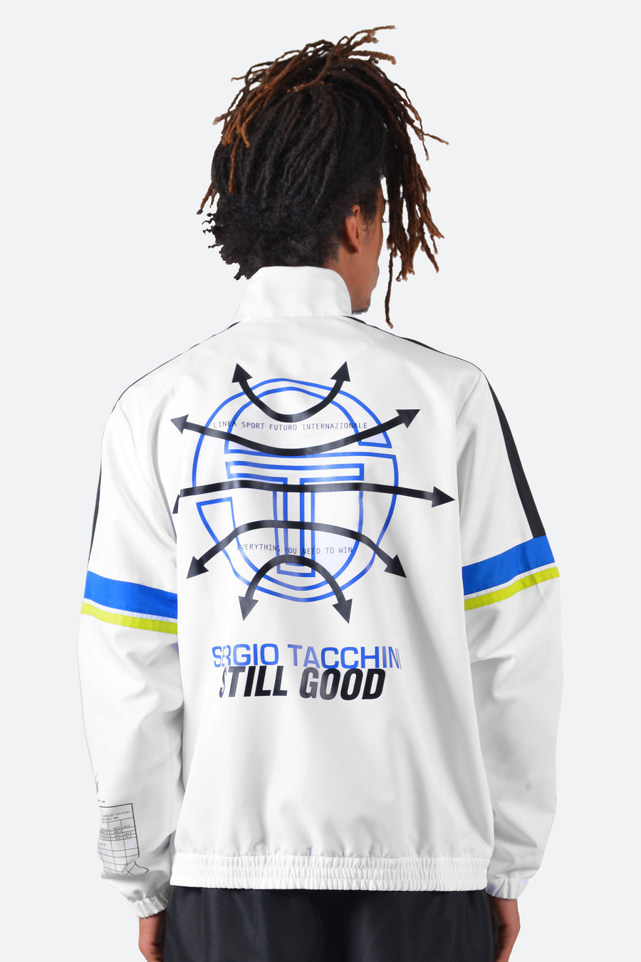 Still Good x Sergio Tacchini Cryo Track Jacket #White/Black