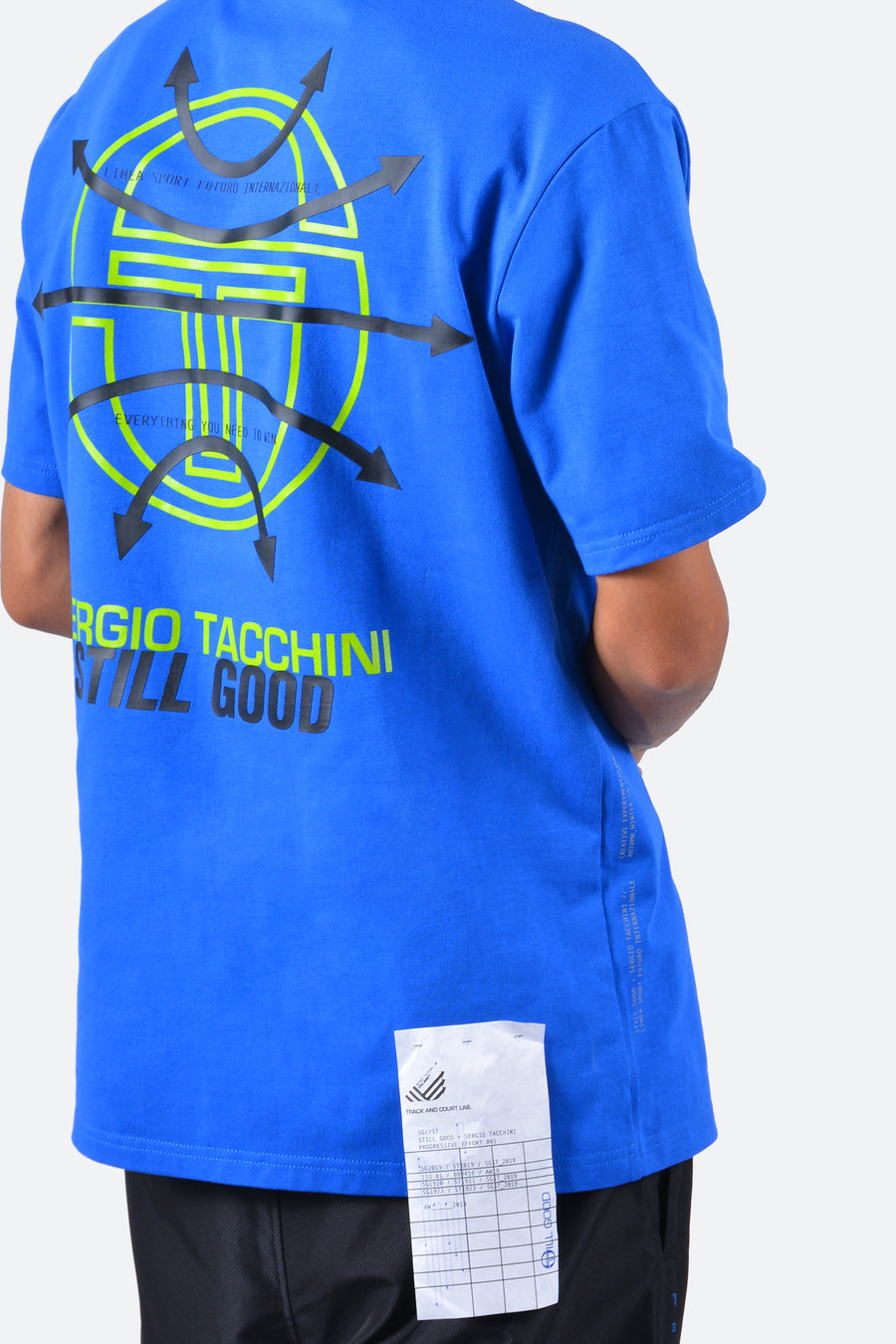 Still Good x Sergio Tacchini Global Tee #Royal Blue