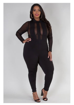 Lola Sheer Jumpsuit
