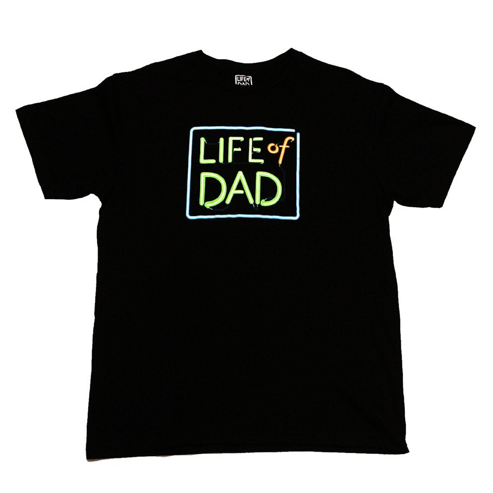 Classic Life of Dad Square Logo T Shirt