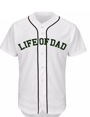 Life of Dad Baseball Jersey