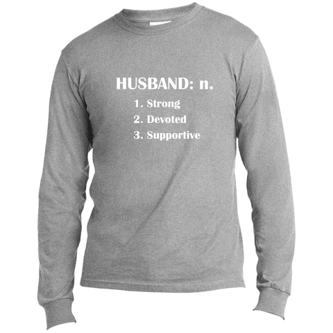 Benefit - Husband Long Sleeve  T-Shirt