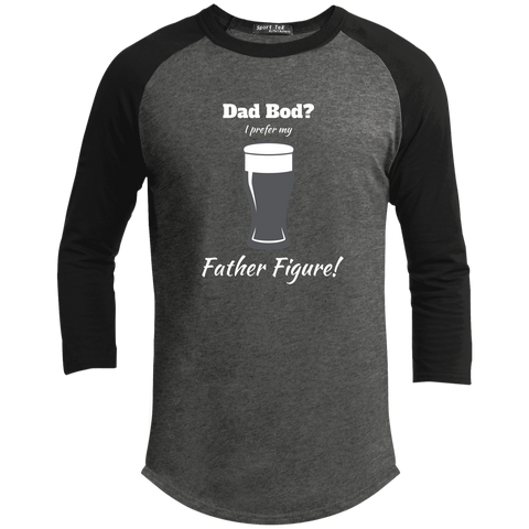Father Figure - Life of Dad 3/4 Sleeve Shirt
