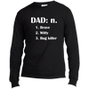 Image of Benefit - Dad Long Sleeve T-Shirt