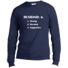 Image of Benefit - Husband Long Sleeve  T-Shirt